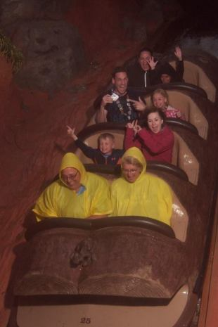 at Splash Mountain
